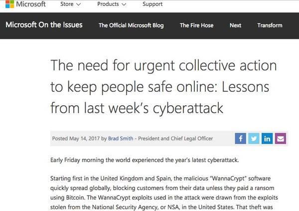 坤鹏论:永恒之蓝,苦了用户火了NSA,受益者横跨几个行业-自媒体|坤鹏论